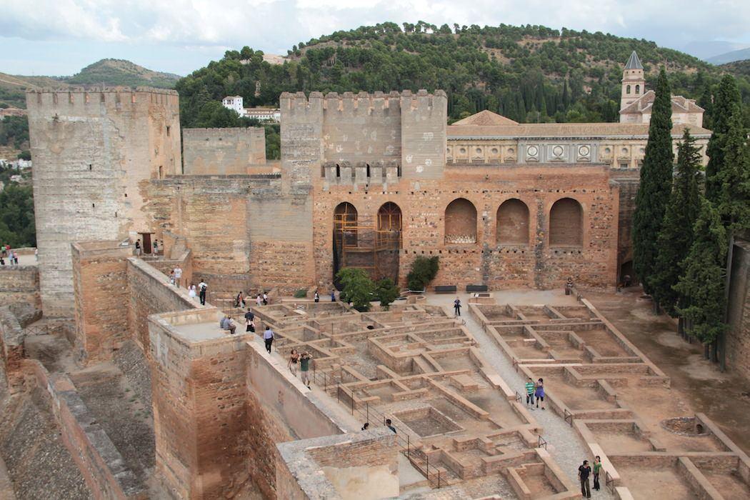 La Alcazaba de la Alhambra de Granada