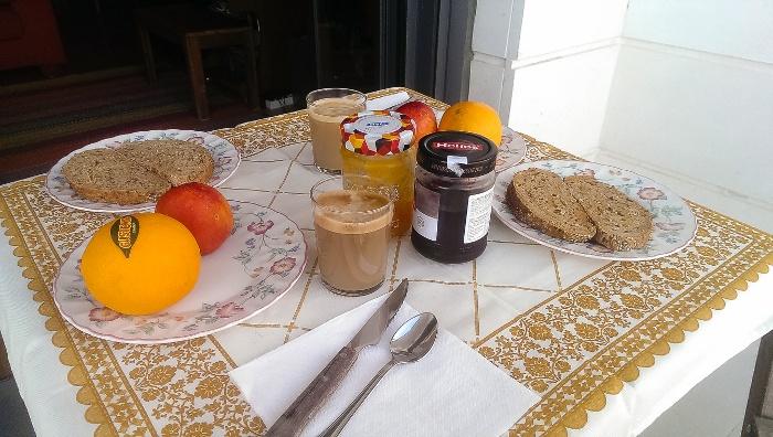 Desayuno típico de España