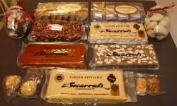 Surtido de turrones, uno de los dulces más típicos de la Navidad en España