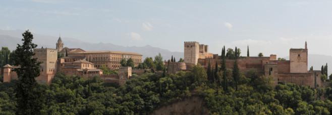 Vista general de la Alhambra de Granada
