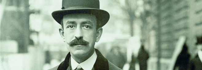 El compositor español Manuel de Falla