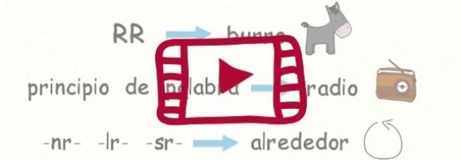 Vídeo sobre cómo se pronuncia la R en español