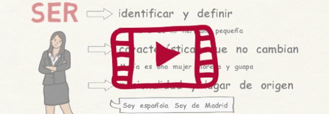 Vídeo sobre los verbos ser y estar