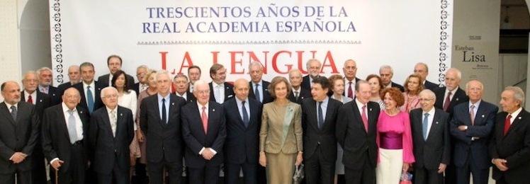 Celebración de los 300 años de la Real Academia Española de la Lengua
