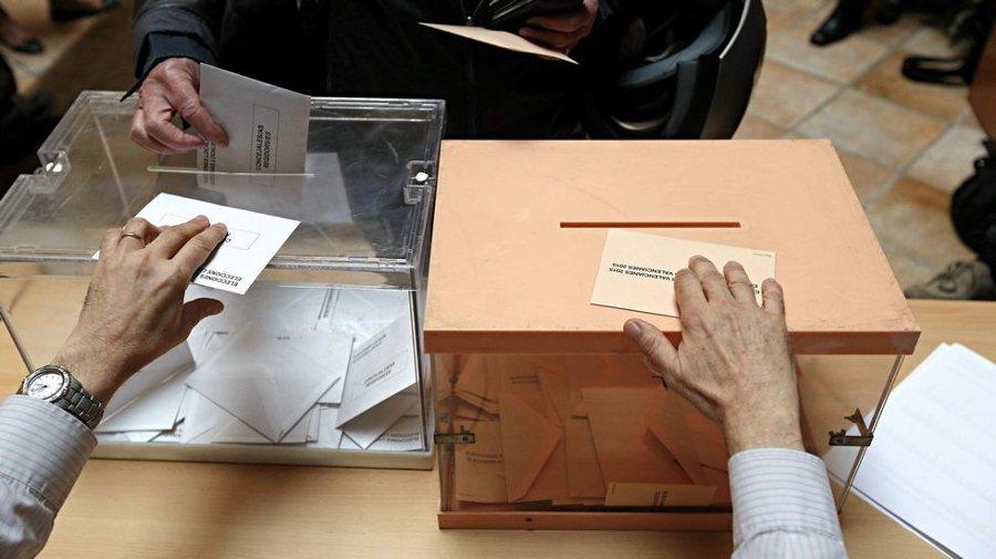 Votante urna