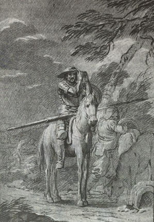 Ilustracion 1 Quijote