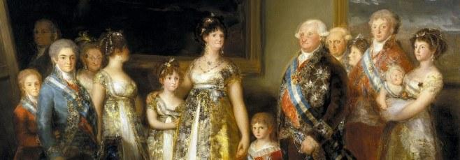 Cuadro 'La familia de Carlos IV', de Goya