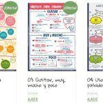 Compra mis nuevas infografías de gramática y vocabulario con un descuento del 20 %