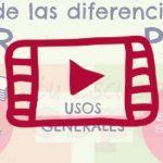 Clase en directo en YouTube sobre las preposiciones por y para