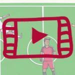 Mundial de fútbol I: partes del campo y futbolistas