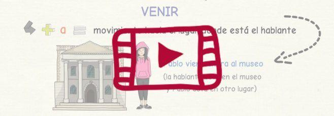 Vídeo sobre los verbos ir y venir