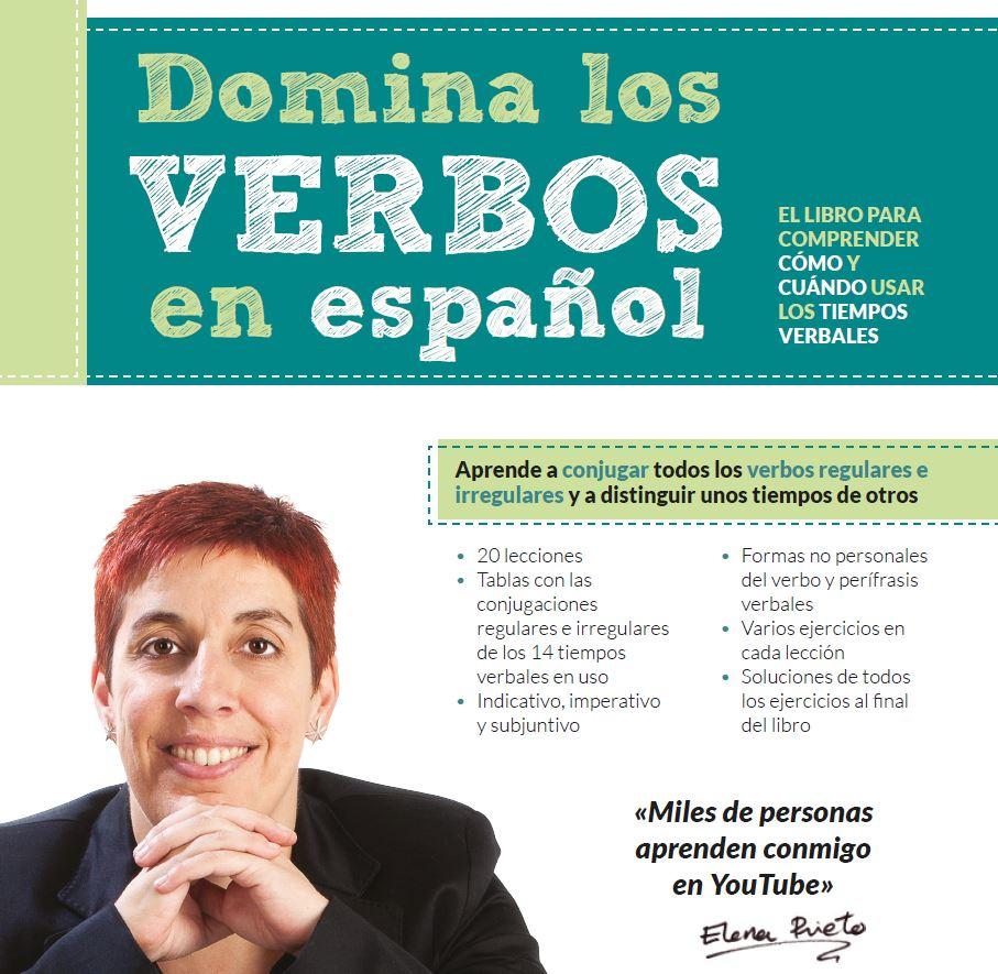 Portada del libro Domina los verbos en español