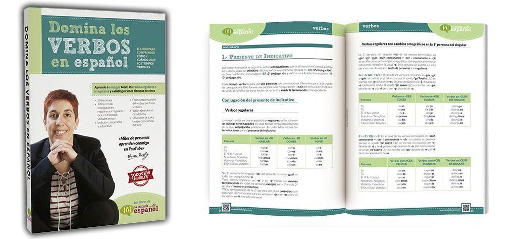 Libro Domina los verbos en español