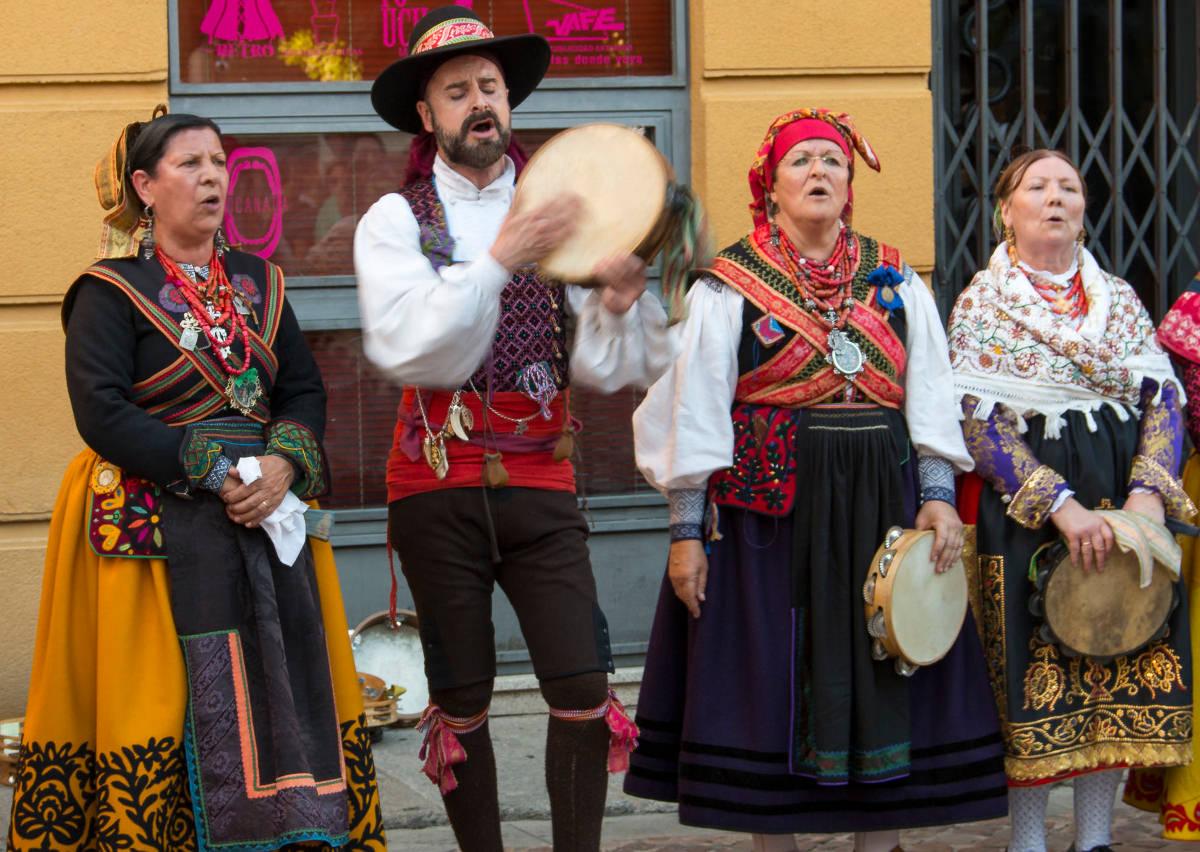 Bailes regionales en Zamora (Castilla y León)