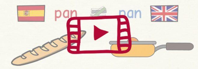 Vídeo 1 falsos amigos español-inglés