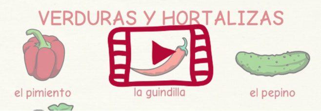 Vídeo verduras y hortalizas
