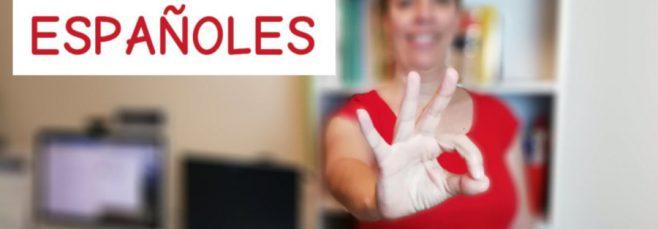 Clase en directo en YouTube sobre los gestos de los españoles