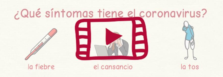 Vídeo sobre cómo hablar del coronavirus en español