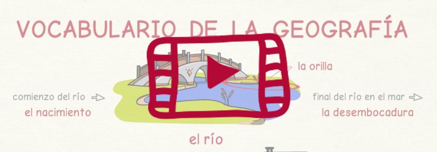 Vídeo sobre el vocabulario de la geografía