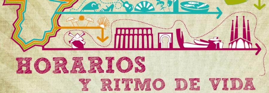 Clase en directo en YouTube sobre los horarios y los ritmos de vida en España