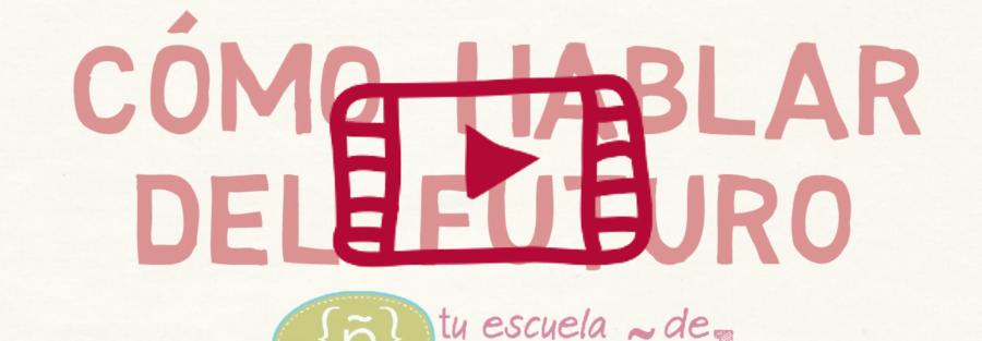Clase en directo en YouTube sobre el futuro en español
